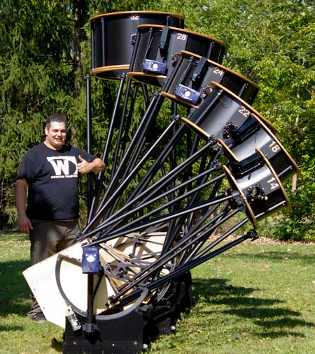 Webster Telescopes - Large Dobsonian Telescopes